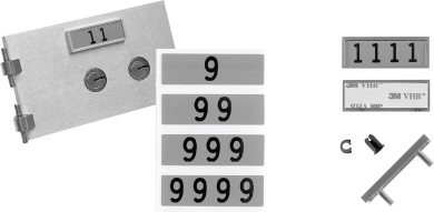 Bullseye S.D. Locks product - LeFebure Number Set