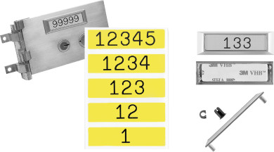 Bullseye S.D. Locks product - Diebold Number Set
